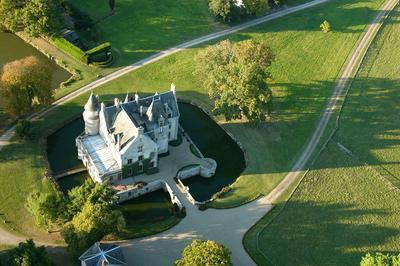 Découvrez Le Château Et Son Parc Agricole Paysager à L'anglaise ! à Saint Aubin le Cloud