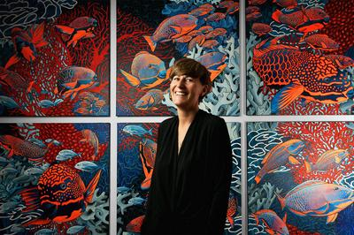 Découvrez les œuvres fantasmagoriques de la peintre animalière Caroline BASUYAU à Ile d'Arz