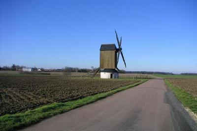 Découvrir Ou Redécouvrir Le Dernier Moulin À Vent Du Gâtinais à Chapelon