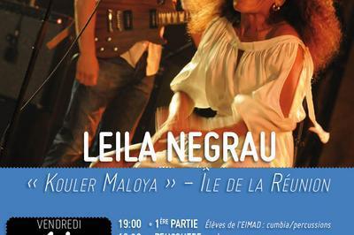 Leila Negrau « Kouler Maloya »  (Ile de la Réunion) à Correns