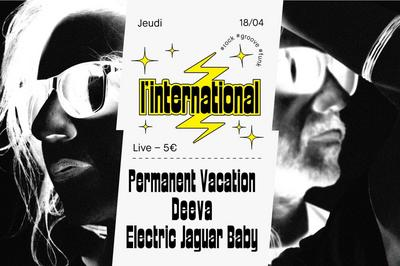 Deeva Permanent Vacation Electric Jaguar Baby à Paris 11ème