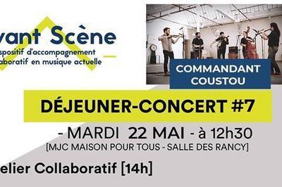 Déjeuner-concert #7 - Commandant Coustou à Lyon