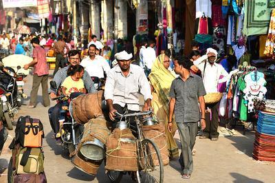 Delhi de Jamel Balhi à Decines Charpieu