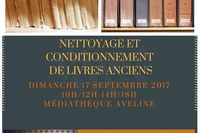 Démonstration D'entretien De Livres Anciens à Alencon
