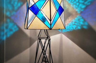 Démonstration Et Initiation à L'art Du Vitrail Avec Chantal Gauthier Atelier Sud Mosaïque à Brignoles