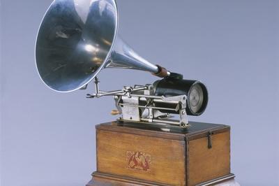 Démonstration: Le Phonographe à Cylindre à Paris 3ème