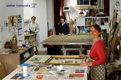 Démonstrations À L'atelier Matsuoka à Paris 17ème