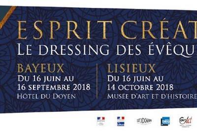Démonstrations D'artisans D'art Et Exposition Esprit Créateur(s) : Le Dressing Des évêques Revisité à Bayeux