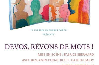 Devos, Revons De Mots ! à Lyon