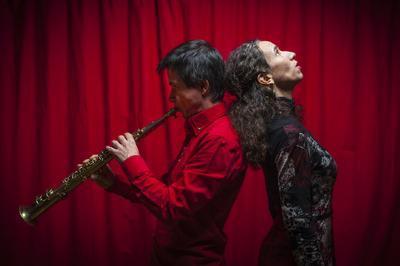 Dialogue D'utopie Originelle (d.u.o)...spectacle Musical Déambulatoire Par La Compagnie D'un Instant à L'autre à Grezac