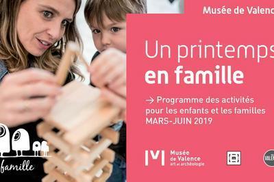 Dimanche en famille au musée - Les cinq sens au musée à Valence