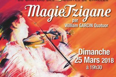 Dîner Concert:magie Tzigane à Challes les Eaux