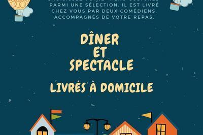 Dîner et spectacle à domicile à Bordeaux