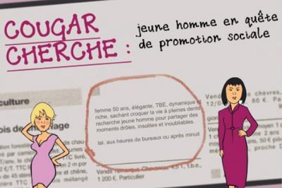 Dîner spectacle: Cougar cherche jeune homme en quête de promotion sociale à Angers