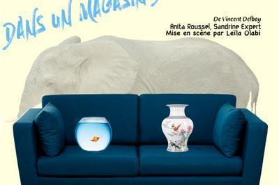 Dîner spectacle: Un éléphant dans un magasin de porcelaine à Angers