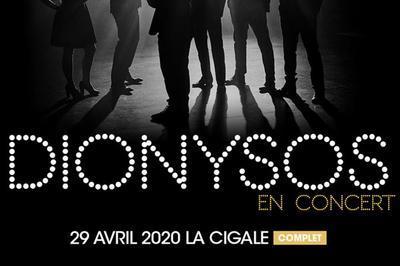 Dionysos - report à Paris 19ème