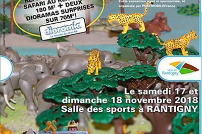 Diorama géant Playmobil à Rantigny