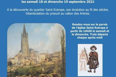 Dix Siècles En Quelques Pas, Du Gladiateur Au Pèlerin à Saintes