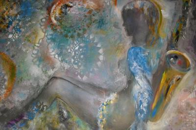Exposition de peintures et boites à rêves de Dominique BERTRAND à Le Boulou