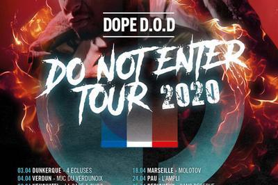 Dope D.o.d. et 1ere Partie à Macon