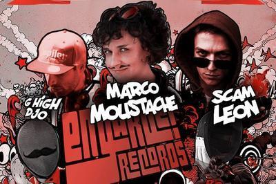 Double Release Party : Marco Moustache X Scam Leon (+G High DJo) à Paris 11ème