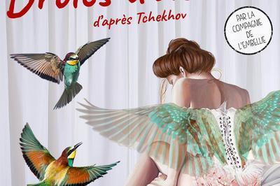 Drôles d'oiseaux d'après Tchekhov par la Cie de l'Embellie à Montauban