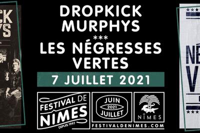 Dropkick Murphys Et Les Négresses Vertes à Nimes