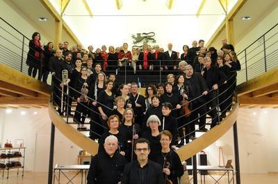 Symphonia  - orchestre symphonique et voix du conservatoire de Cognac à Cherves Richemont