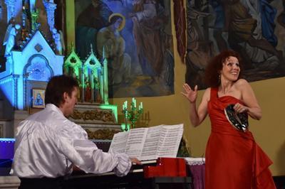 Grand Concert de Pâques,le Duo Canticel « Chante à Marie » à Saint Martin Lalande