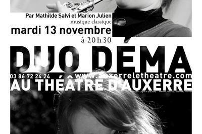 Duo Déma à Auxerre
