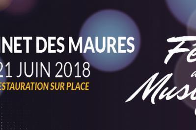 Duo du haut - Ti Mal (Fête de la Musique 2018) à Le Cannet des Maures