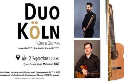 Duo Köln - Flûte & Guitare à Biot