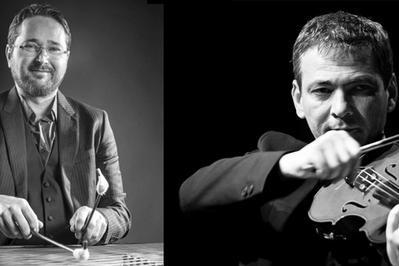 Duo Violon Et Cymbalum : Marian Iacob Maciuca Et Mihai Trestian à Getigne