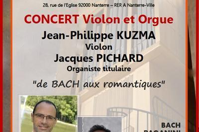 Duo Violon & Orgue à Nanterre