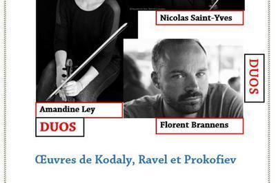 Duos Violon-Violoncelle à Paris 5ème