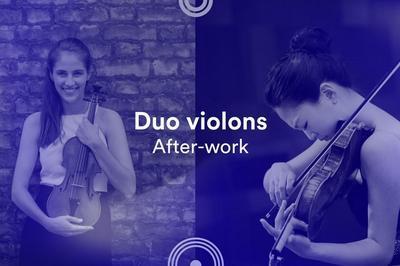 Duos violons à Besancon