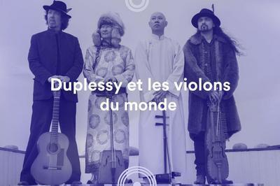Duplessy et les violons du monde • 72e Festival de musique de Besançon à Besancon