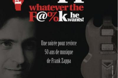Dweezil Zappa : 50 Years Of Frank à Paris 18ème