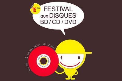 16e Festival aux Disques, BD, CD et DVD 2020