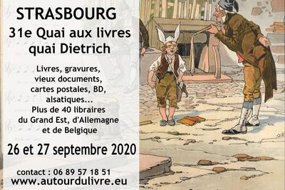 31e Quai aux livres (seconde édition) à Strasbourg