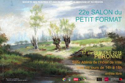 22e Salon du Petit Format à Peronne