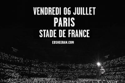 Ed Sheeran à Saint Denis