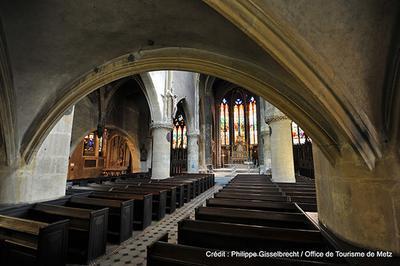 Eglise Saint-eucaire à Metz