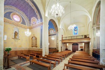 Eglise Saint-julien Et Sainte-basilisse à Baillargues