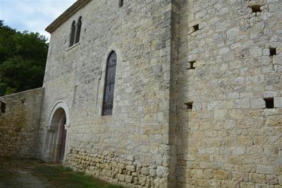 Eglise Saint-just à Hautefage la Tour