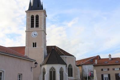 Eglise Saint-léger à Custines