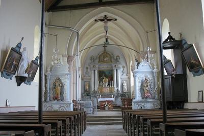 Eglise Saint-louvent à Attancourt