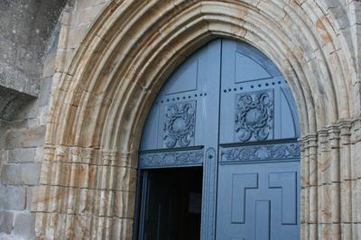 Eglise Saint-sauveur : Ex-voto Et Inscription - Auray