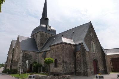 Eglise St Jouin à Moisdon la Riviere