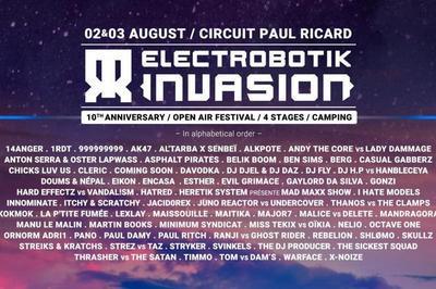 Electrobotik Invasion 2019